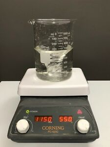 Corning Pc 420d Hot Plate Magnetic Stirrer 5 X 7 120v Stirring Analog Heater