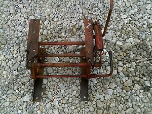 Farmall 504 Gas Diesel Tractor Ih Easy Rider Middle Seat Assembly Mount