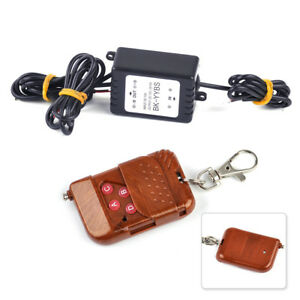 12v Wireless Remote Control Key Module Strobe Flash For Car Led Bulbs Led Strips