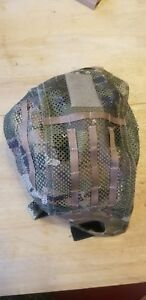 Crye Multicam EMERSON mesh FAST Helmet Cover Tactical Hunting Military ops core