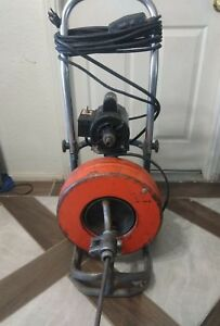 General Sewerooter T3 Power Drain Cleaner 120 Volts 60hz 1 3 Hp 7 0