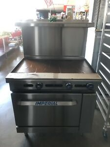 New Imperial Commercial Range Griddle Oven Ir g36t
