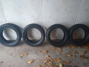 Set Of 4 Dunlop Wintermaxx Tires 185 55 16 Superb Condition Awesome Snow Tires