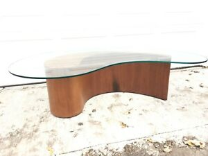 Vladimir Kagan Comma Apostrophe Coffee Table