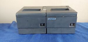Lot Of 2 Epson Pos Receipt Label Printers Printer