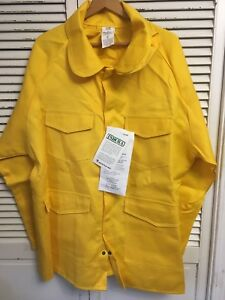 Nwt Old Stock Pgi Indura Wildland Fire Fighter Garment Jacket Made Usa Adult Xl
