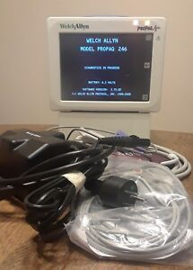 Welch Allyn Propaq Cs Wireless Patient Monitor 246 With Sidestream Co2 All Leads
