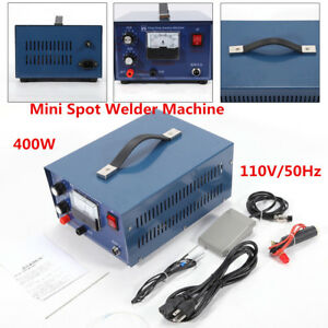 New Jewelry Pulse Welding Machine Mini Spot Welder Machine 110v 400w 50a Usa