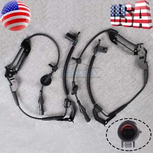 2x For 2001 2008 Ford Escape Front Left Right Abs Wheel Speed Sensor Xls Xlt