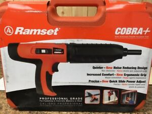 Ramset Cobra Plus 27 Caliber Semi Auto Powder Actuated Tool 16942 new