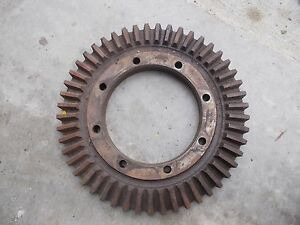 Farmall H Early Sh Tractor Ih Ihc Transmission Main Pinion Drive Gear Ring