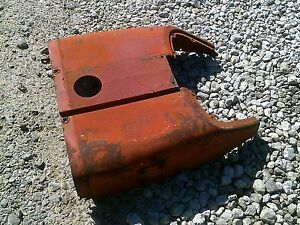 Farmall 504 D Tractor Original Factory Ih Hood For Over Fuel Tank Dent Free