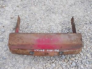 Farmall 340 Rc Tractor Ih Ihc Top Bonnet Brace Mount Bracket To Radiator