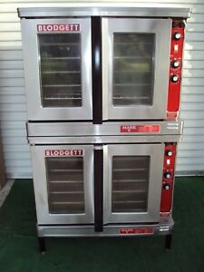 Blodgett Double Mark V Electric Commercial Oven Bakery Pizza