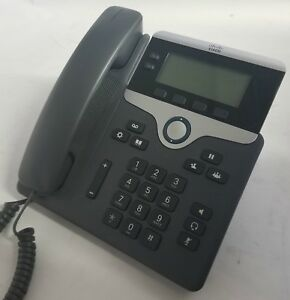 Cisco Cp 7821 Voip Phone And Stand Tested Warranty