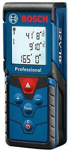 Bosch Glm165 40 Blaze Pro 165 Ft Laser Measure