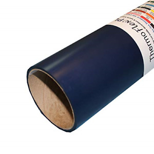 Thermoflex Plus 15 X 10 Roll Navy Heat Transfer Vinyl