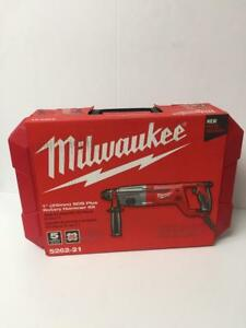Milwaukee 5262 21 1 Sds Plus Rotary Hammer Kit New In Packaging Ships Free