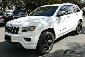 Eos Visors For 11 Up Jeep Grand Cherokee In Channel Side Window Guard Deflector