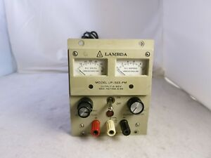 Lambda Lp 523 Fm 0 60v 0 9a Regulated Dc Lab Power Supply