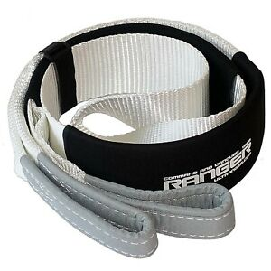 Ranger 3 X 6 Tree Saver Strap For Tow Winch Recovery Heavy Duty With Reinfo