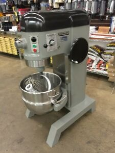 Refurbished Hobart H 600 60 Qt Mixer W Hook Flat Beater Whip