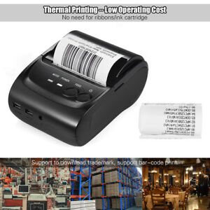 Mini Wireless Pos Thermal Printer Receipt Ticket Usb Printing Pos 5802dd U5t0