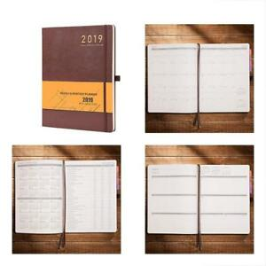 Planner 2019 With Pen Holder academic Weekly Monthly And Yearly Planner Thick