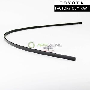 Genuine Toyota Yaris Sedan 2007 2011 Right Roof Drip Molding Oem 75551 52160