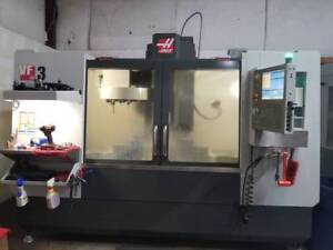2013 Haas Vf 3 4 Ax Drive Tool Probe Only 2k Cut Hours Video Available