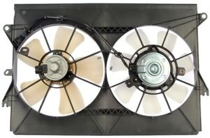 Dual Fan Assembly Radiator Without Controller 05 10 Scion Tc Dorman 620 547