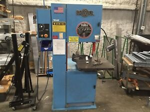 Doall 2013 v3 Vertical Contour Band Saw Do All 500lb Capacity Industrial
