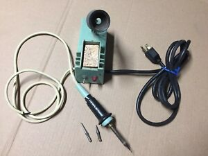 Weller W tcp Soldering Station Controlled Output Iron Stand Xtra 2 Tips