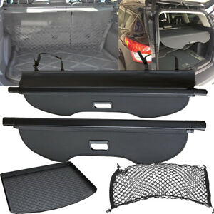 Rear Trunk Cargo Cover cargo Floor Mat mesh Net Shade For 2008 2018 Ford Escape