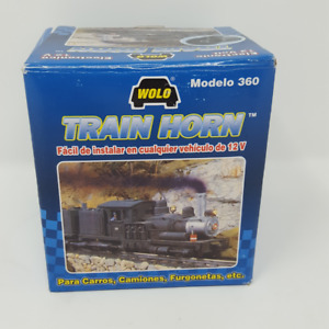 Wolo 360 Train Horn Electronic Horn 12 Volt