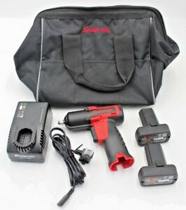 Snap On Tools Ct761a 14 4v 3 8 Cordless Impact Wrench In Great Condition