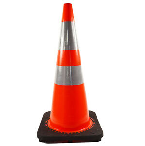 8pcs lot 28 Inch Traffic Cones Safety Red Sports Reflective Construction