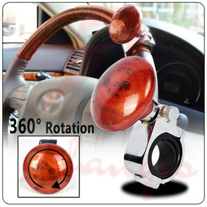 Car Power Steering Wheel Ball Suicide Spinner Styling Handle Knob Booster Retro