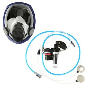 Air Fed Respirator Supplied Dust Respirator Protection Mask For Spraying Welding