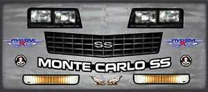 Five Star Graphics Kit Md3 88 Chevy Monte Carlo