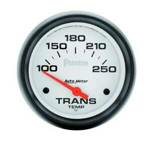 Auto Meter 2 5 8in Phantom Trans Temp Gauge 100 250f