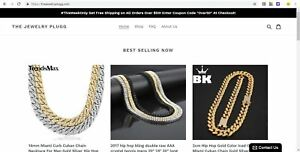 Turnkey Shopify Ecommerce Drop Ship Store Website Business Jewelry