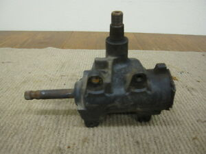 1967 1968 1969 Camaro Firebird Nova Manual Steering Gear Box Gm Saginaw E3384