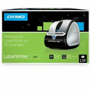 Shipping Label Printer Dymo Commercial Thermal Labelwriter 450 Barcodes