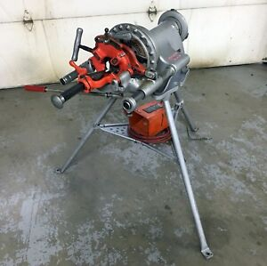 Ridgid 300 Pipe Threader Complete Tested Strong Running Machine