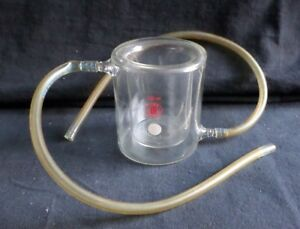 Lab Glass 250ml Jacketed Reaction Beaker With Hose Connections 317000 0250