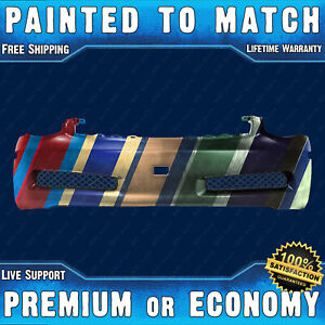 New Painted To Match Front Bumper Replacement For 2003 2007 Infiniti G35 Coupe