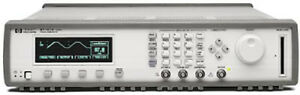 Hp Agilent 8110a With 2 81103a Pulse Pattern Generator 150 Mhz