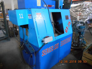 Omniturn Gt 75 Series Iii Cnc Lathe With Live Tooling And Tools Shown