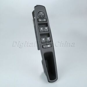 Master Window Switch Front Left Fit For 2012 Renault Fluence L30 2010 2014